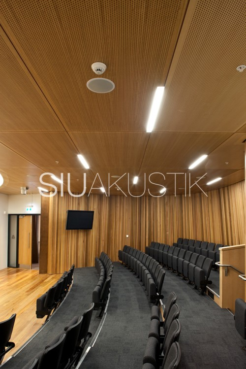 Siuakustik Panel System- Perforated ceiling finish (21)