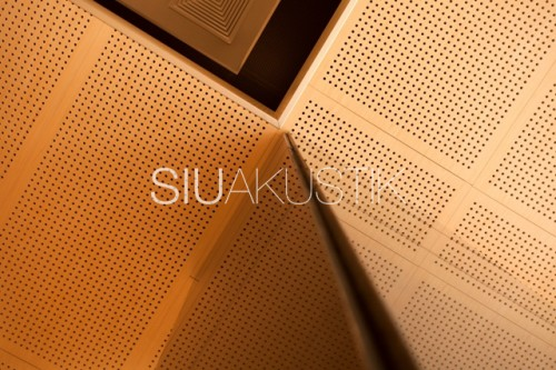 Siuakustik Panel System- Perforated ceiling finish (23)