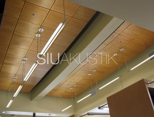 Siuakustik Panel System- Perforated ceiling finish (25)
