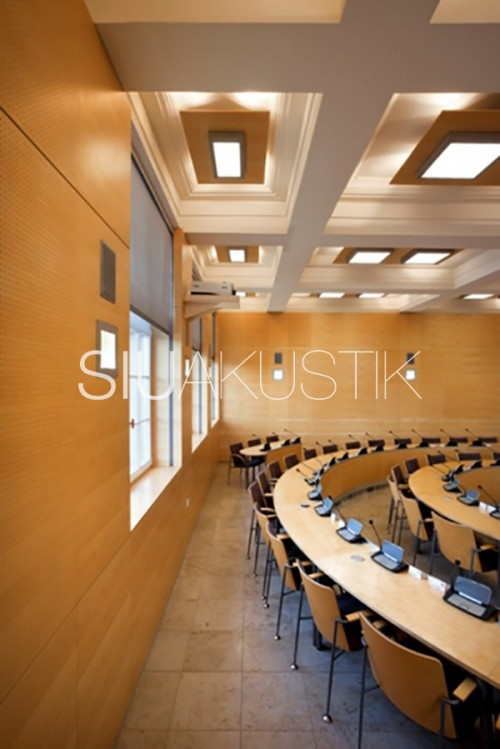 Siuakustik Panel System- Perforated wall finish (6)