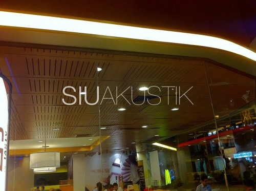 Siuakustik Slotted Ceiling In McDonald's Store (2)