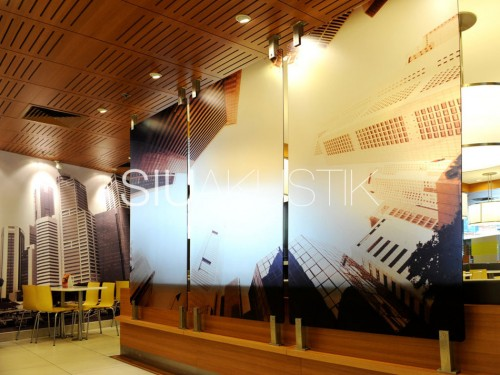 Siuakustik Slotted Ceiling In McDonald's Store (3)